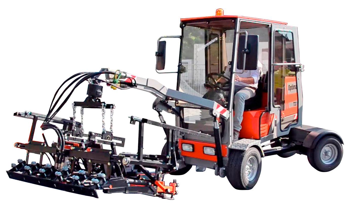 Bestratingsmachine Type T22